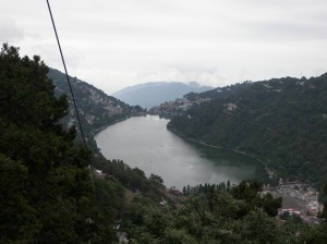 "This is how they sell it. The ""Mango"" shaped lake, which is the same Nanital lake, but, with a difference!"
