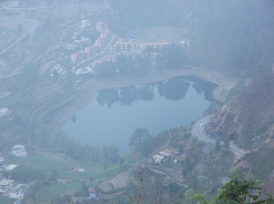 Khurpataal. The hoof shaped lake which goes down all the way to Hell!